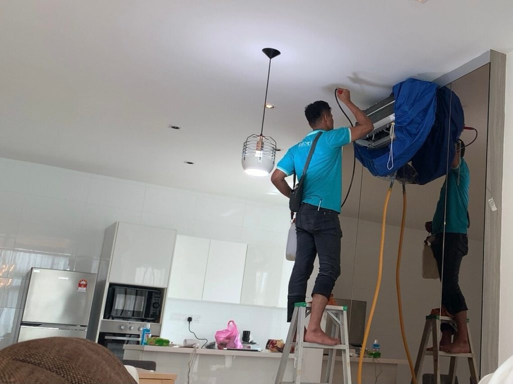 aircond cleaning